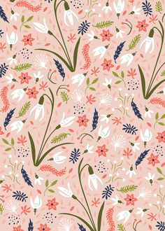 Humble Snowdrops, pattern by Paula McGloin