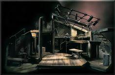 Diary of Anne Frank - Set Design by Richard Finkelstein, Stage Designer