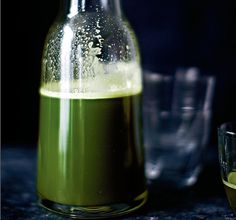 Green juice is the new nightcap, says Sarah Cadji, owner of London's Roots & Bulbs, who argues that nighttime is the right time for a veggie blast.