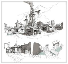 Settlement sketches