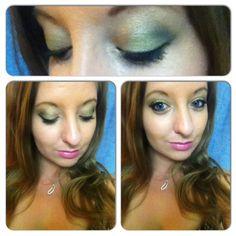 Green + Gold Cali Inspo Eyeshadow