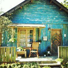 Rustic beach cottage