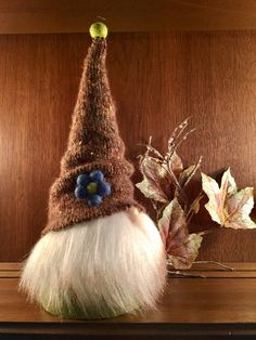 Angus the Swedish Tomte, Christmas Gnome, Nordic Elf, Wizard by Gnomes4theHolidays on Etsy