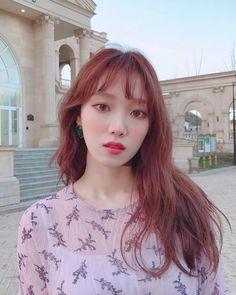 Lee Sung-kyung Encourages People to Watch 'About Time' Lee Sung Kyung Hair, Korean Actresses, Korean Actors, Weightlifting Fairy Kim Bok Joo, Joo Hyuk, Mid Length Hair, Asian Hair, Korean Beauty, Hair Lengths