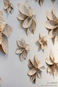 oragami ideas/ recycled paper