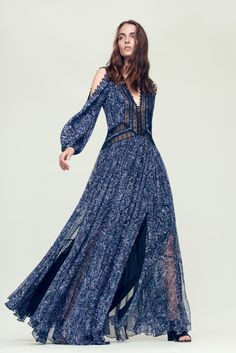 Channeling your inner bohemian in the Block Print Paisley Maxi Dress