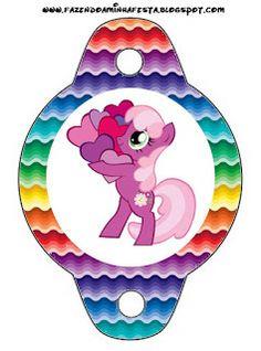 Ideas y material gratis para fiestas y celebraciones Oh My Fiesta!: Imprimibles de My Little Pony 11.