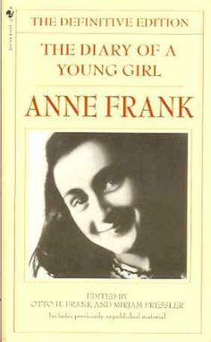 Famous Books You Didn't Know Were Censored: The Diary of a Young Girl: Anne Frank Anne Frank, I Love Books, Good Books, Children's Books, Teen Books, Comic Books, Books To Read For Women, Daddy, Famous Books