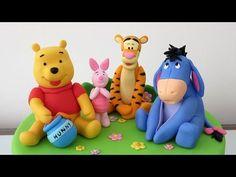 Hi! In this video we will teach you how to make a Winnie the Pooh with gum paste. Hola! En este video te enseñaré cómo hacer a Winnie Pooh con pasta de goma....