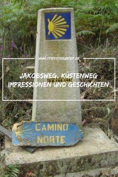 Wandern auf dem Küstenweg - Überlegst Du einen Jakobsweg zu laufen? Ich sage: Ja tu es!  Esist ein besonderer Weg. Egal ob Du es aus sportlichen, religiösen, privaten oder sonstigen Gründen tust... der Weg ist besonders.  Auf dem Camino del Norte siehst Du auch immer wieder das Meer, der Küstenweg wird seinem Namen gerecht.