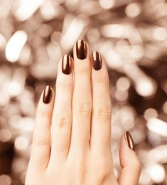 Taking our nails to the next level with OPI Chrome. Try ''Bronzed Sun' over 'Black Onyx' to turn heads.