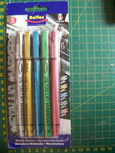 Rolfes Markers Markers, My Favorite Things, Metal, Crafts, Products, Runners, Sharpies, Manualidades, Metals