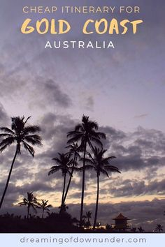 Discover the best Gold Coast Australia attractions and activities with this cheap itinerary. Includes Gold Coast beaches, Surfers Paradise, walks and a cruise. #australia #queensland #travel #traveldestinations Gold Coast Australia, Queensland Australia, Western Australia, Australia Travel, Visit Australia, Things To Do In Brisbane, Australian Photography, Airlie Beach, Sea World