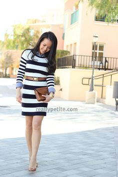 StripedChambray2 by Stylish Petite, via Flickr