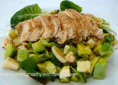 """Delicious and easy """"Girls' Night In"""" Salad - http://ventography.wordpress.com/2014/03/03/girls-night-in-salad-recipe/"""