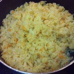 very flavorful rice, pair with any protein.