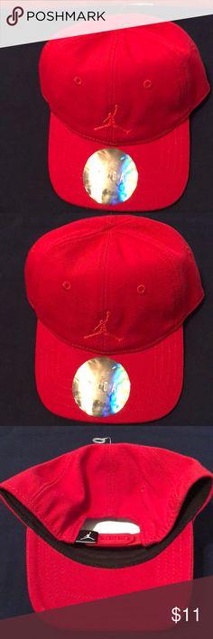 Infant Jordan hat cap red Infant Jordan cap hat  New Jordan Accessories Hats