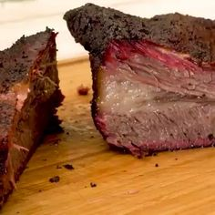Texas Style Smoked Beef Brisket is part of Smoked food recipes - Texas Style Smoked Beef Brisket is more than a recipe, it's a process for melt in your mouth smoked brisket All you need is salt, pepper, smoke, and time Beef Brisket Recipes, Smoked Beef Brisket, Traeger Recipes, Smoked Meat Recipes, Grilling Recipes, Texas Brisket, Brisket Recipe Smoker, Brisket In Smoker, Brisket In Electric Smoker