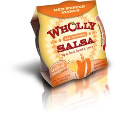 Wholly Guacamole Salsa and Dips: Perfect for dunking veggies or baked chips, and a great topper for salads or baked potatoes.  The interesting use of spices, vegetables and fruits helps to create tasty, low-cal dips.  It's also way lower in sodium that most bottled salsas.