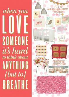 Lay Baby Lay Love this baby nursery inspiration board!