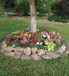 Tree Ring Garden Planter | Landscaping Solutions