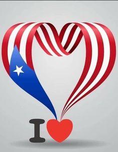 Puerto Rico Island, Puerto Rico Trip, Puerto Rican Flag, Puerto Ricans, Beautiful Islands, Happy Valentines Day, Cuba, Dove Tattoos, Feb 14