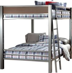 Shop for a Louie Full Full Bunk Bed at Rooms To Go Kids. Find  that will look great in your home and complement the rest of your furniture. #iSofa #roomstogo
