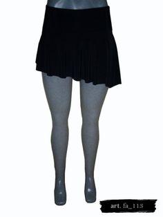 e51e2934cf Minifalda Negra Tt Blues en Mercado Libre México