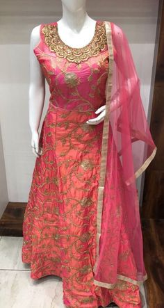 indian bollywood designer anarkali wedding pakistani Readymade M L salwar kameez  | eBay