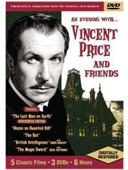 An Evening with Vincent Price & Friends DVD