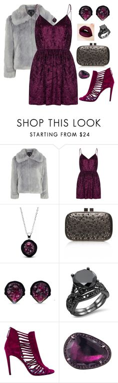 """""""Untitled #526"""" by hallierosedale ❤ liked on Polyvore featuring Topshop, WithChic, Carvela, Aquazzura and Celine Daoust"""