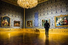 With a rich history, beautiful baroque architecture, and the world's largest collection of Gustav Klimt artwork -- Vienna's Belvedere Palace is a must see destination. Baroque Architecture, Amazing Architecture, Vienna Winter, Vienna Museum, Winter Palace, Gustav Klimt, 18th Century, Worlds Largest, Castle
