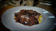 Cebolla Caramelizada con salsa Teriyaki y Angostura