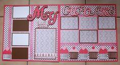 """My Little Cupcake"" 12x12 Double Layout |Faith Abigail Designs"