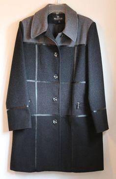 Vintage Braefair Womens Wool Coat - Size 12 - Excellent - Free Shipping #Braefair #BasicCoat