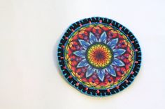 Hippie Boho Mandala Patch Personalized Hand by MaineCoonCrafts, $15.00