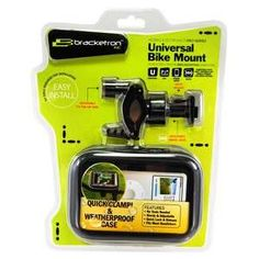 Brackerton Universal Bike Mount - For the avid cyclist who likes to have their mobile on-hand, the Brackerton Universal Bike Mount is one of the best accessories you can get on the ...