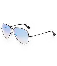 5d75830f9564 Ray-Ban Mirrored Ombré Aviator Sunglasses