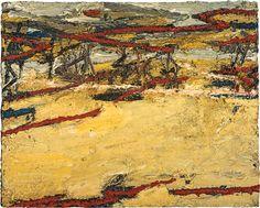 TREES IN ART • L'ARBRE DANS L'ART | Frank Auerbach (British, b. 1931), Primrose Hill,...