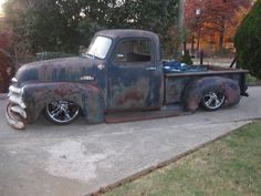 slammed This is practically the truck I would like to find for my rebuild. I even have a keg right now I want to put in the bed as an extra gas tank.