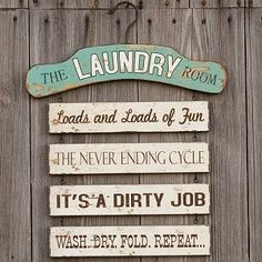 Laundry sign decor funny laundry sign laundry room decor cute laundry room signs laundry sign home decor Laundry Humor, Laundry Room Signs, Laundry Closet, Laundry Room Organization, Laundry Rooms, Laundry Area, Small Laundry, Laundry Funny, Laundry Room Quotes