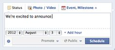 ShortStack Article: New FB Scheduling Posts Feature