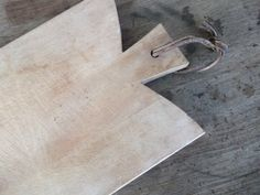 French Vintage Wooden Cutting Board. #AmandaJaneJones