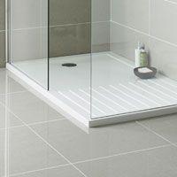 PermaLife 1000mm x 700mm Rectangular Low Profile Shower Tray | PioneerBathrooms.com