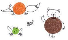 Book Art, Rooster, Montessori, Illustration, Kids, Canti, Estate, Books, Teaching