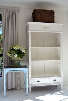 Paint Me White: Painted White Armoire