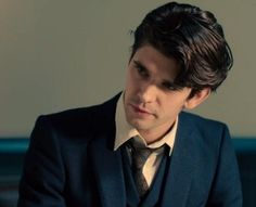 Ben Whishaw. Seriously, his hair is like feathers! (and I mean that in the best possible way)