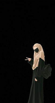 Cute Cartoon Images, Cute Cartoon Girl, Anime Girl Cute, Cute Cartoon Wallpapers, Cartoon Art, Islamic Girl Pic, Muslim Pictures, Muslim Couple Photography, Cute Emoji Wallpaper
