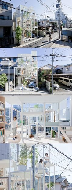 Name: House NA  Designer: Sou Fujimoto Architects  Location: Tokyo, Japan