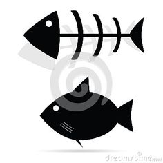 Fish Bone Vector Illustration Stock Photos – 340 Fish Bone Vector Illustration Stock Images, Stock Photography & Pictures - Dreamstime Fish Drawings, Bat Signal, Icon Set, Superhero Logos, Images, Carving, Board, Illustration, Projects